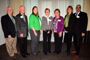 Dr. Janet Rossant, PhD with Canadian Club of Halton Peel Head Table Guests