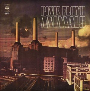 """Album cover for pink floyd """"animals"""""""