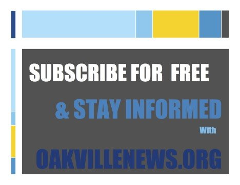 Free Subscription, Oakville News