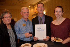 Angie & Barry Wylie and  Nominees; That Pie Place, owned by Jamie & Courtney Nadeau