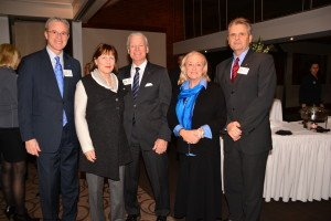 Les Ross, Mickie & David Angas, Mary Cardamone & Duncan McLeod Greeting the OABE Nominees