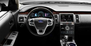 Dash with steering wheel