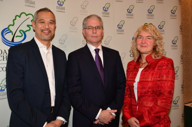 Ray Kong, Executive Vice President of Ipsos Loyalty Toronto, RBC Chief Economist Craig Wright, and OCC Chair Kerry