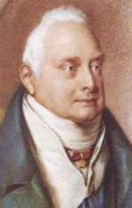 Portrait: white haired white male from 1830's