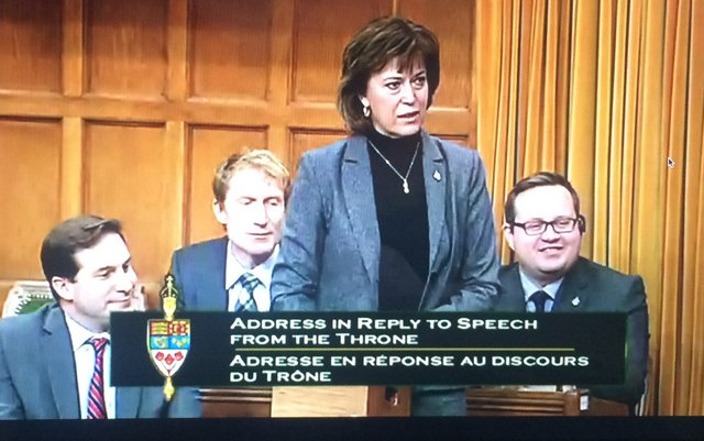Pam Damoff in House of Commons