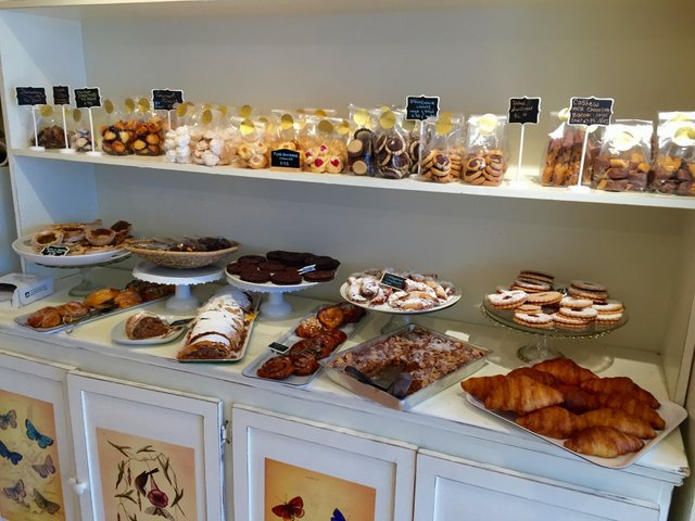 Selection of baked goods