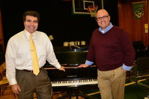 Award- Winning Composer and Guest, Samuel R. Hazo; and T.A. Blakelock Musical Conductor Brian Vincent
