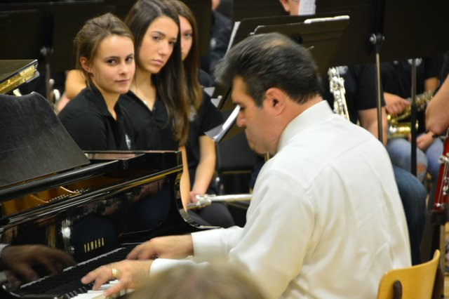 T.A, Blakelock Musical Evening with the award-winning composer, Samuel R. Hazo and his Compositions at TA Blakelock HS Nov. 5 2015