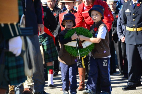 Laying for Wreaths
