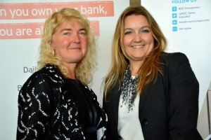 Kerry Colborne Oakville Chamber of Commerce Chair and BDC's Area Manager,  Marybeth Edge. Photo Credit: Janet Bedford