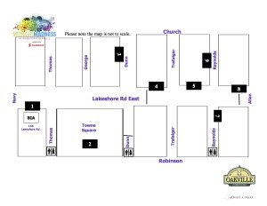 Midnight Madness Map 2015 Stages