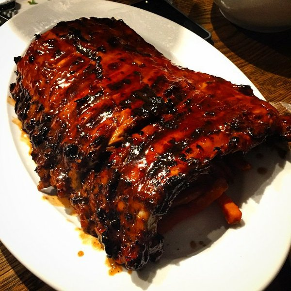 Rack of Ribs Cooked