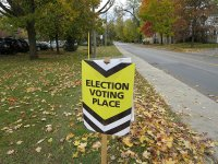Election Voting Sign