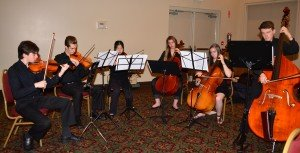 T.A. Blakelock High School String Ensemble: Chosen to Play our National Anthem!