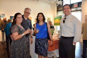 Open House at Trias Gallery, 11 Bronte Rd in Bronte Village, Oakville. Photo Credit: Janet Bedford
