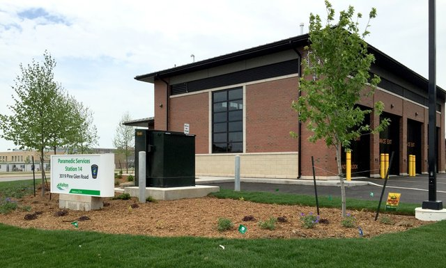 Oakville Paramedic Services Station 14 at 3019 Pine Glen Road