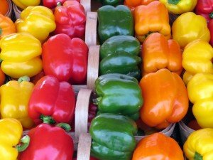 Oakville Farmers' Market Peppers