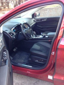 Ford EDGE 2015, Front Interior