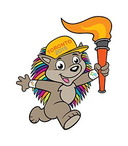 Appachi - Mascot, PAN AM Games, 2015