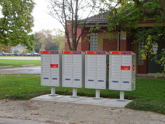 Canada Post Community Mail Box