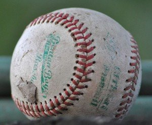 a-worn-out-baseball