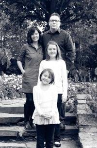 Scott McColeman, his wife and 2 young daughters
