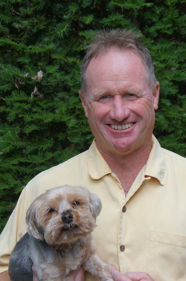 Steve Maloney  &  Yorkshire Terrier
