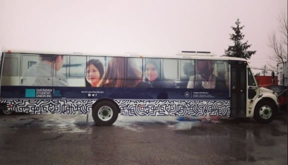 Sheridan College Bus