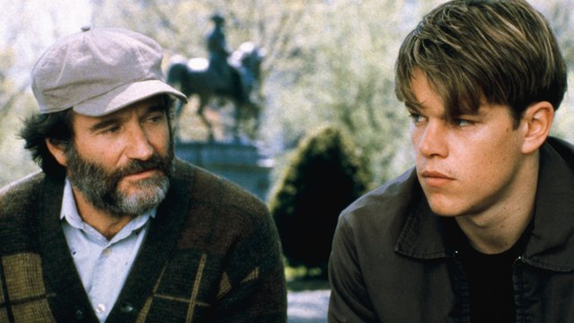 Robin Williams  &  Matt Damon