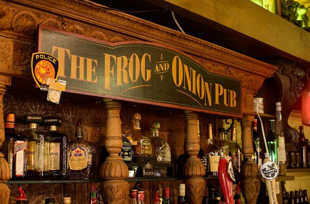The Frog  &  Onion