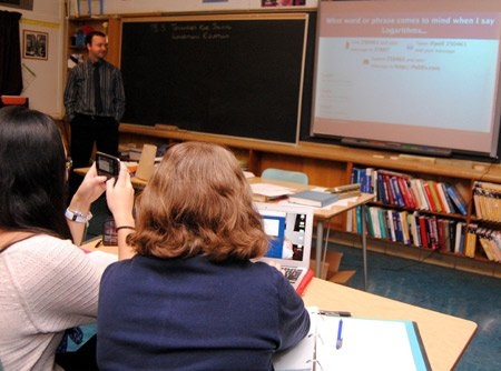 Teachers learning about Social Networking Tools