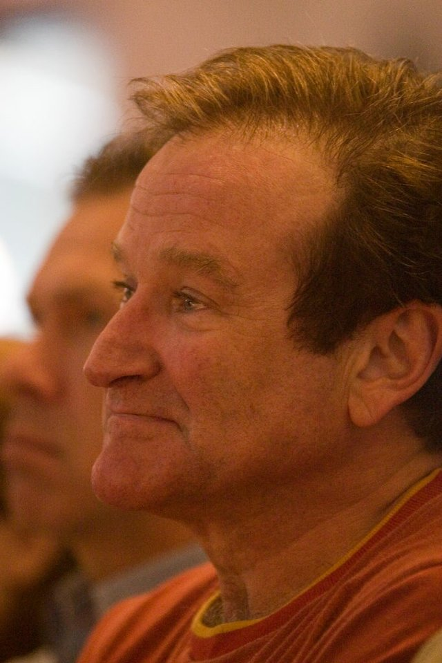 Robin Williams Head Shot