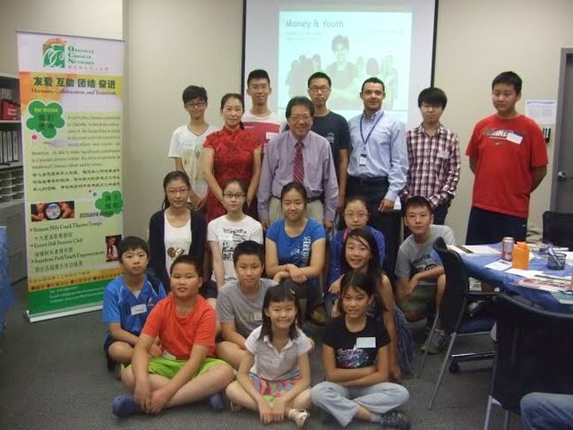 Children from the Oakville Chinese Network  &  Mr. Wong