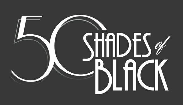 Logo for 50 Shades of Black