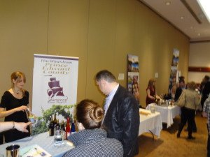 PEC Wineries at OWEC esoterica wine fair