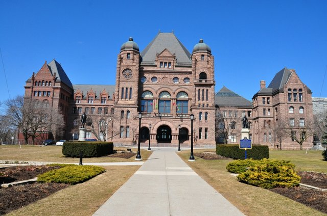 Ontario Legislature Building, Queens Park
