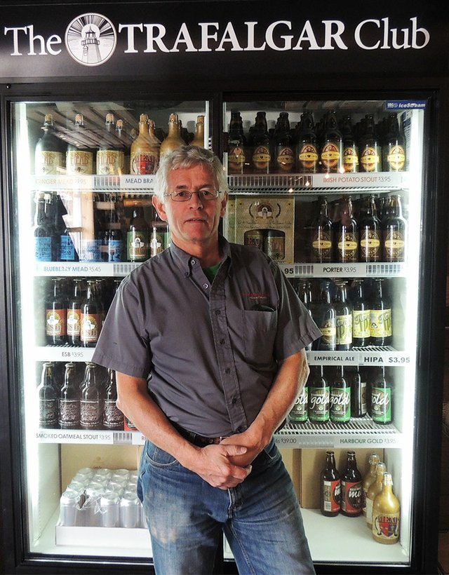 Mike Arnold, founder of Trafalgar Ales and Meads