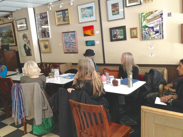 Oakville Literary Alliance, Moonshine Cafe, Oakville News