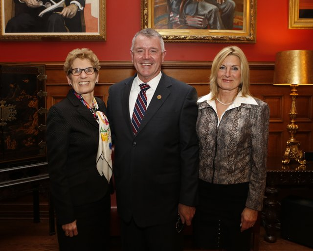 Premier, Kevin and Jan, Oakville News, Minister of Labour