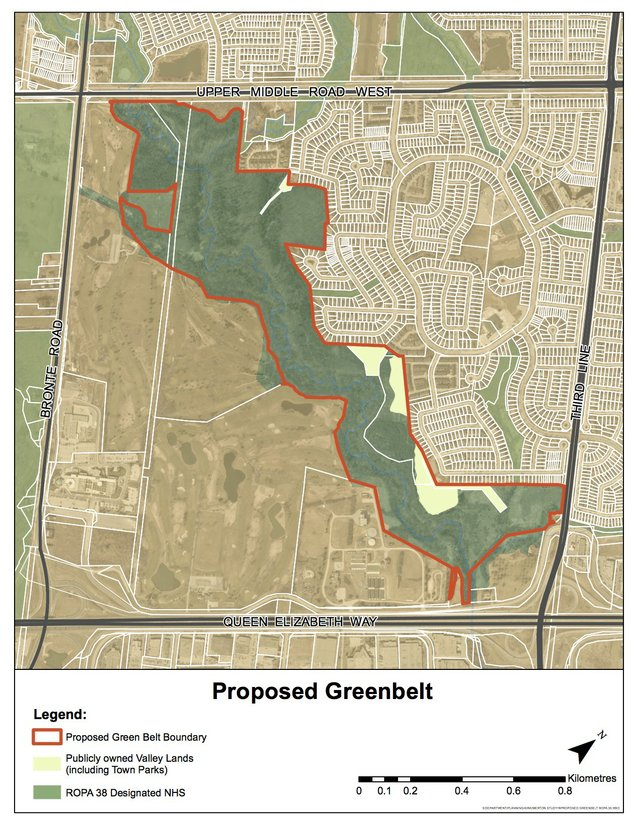 Map - Growing the Greenbelt re Item 2