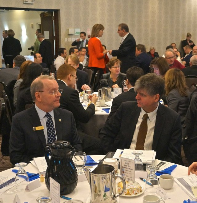 RBC Senior Economist Craig Wright, Economic Breakfast 2014, Oakville News
