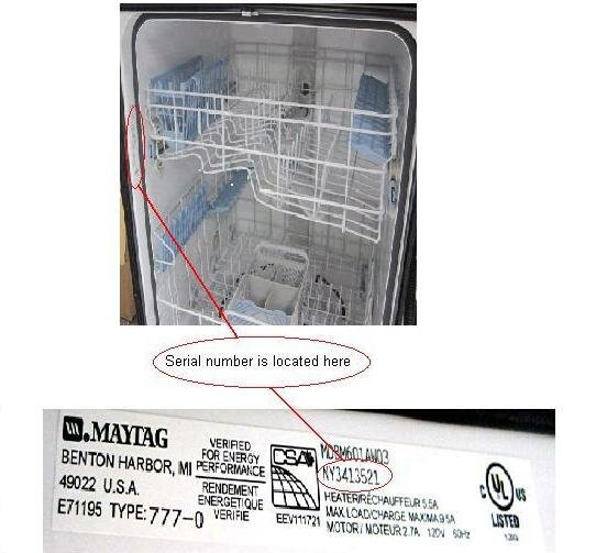 Dishwasher Re-Call - December  2013, Oakville News