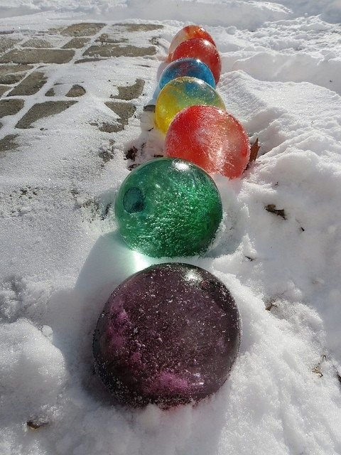Frozen Water Balloons: Oakville News