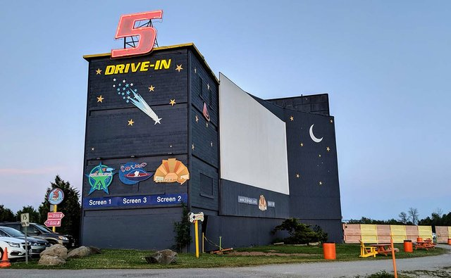 5 Drive-In re-opened