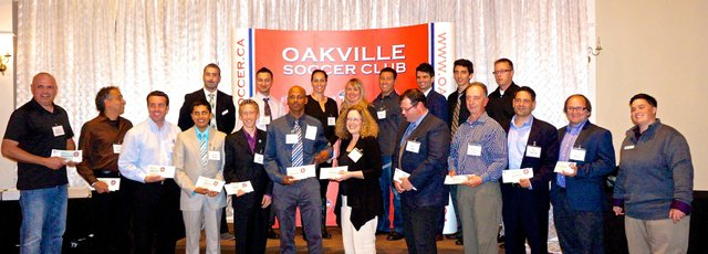 Nominated for the Oakville Soccer Club's Referee Awards